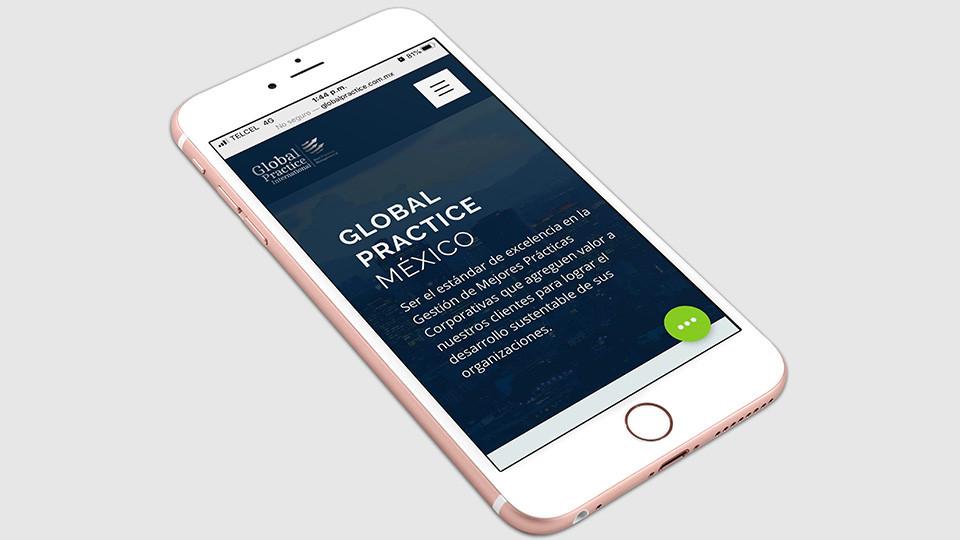 Sitio web GPI - Global Practice International