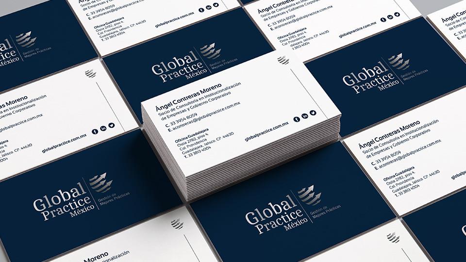 Tarjetas de presentación GPI - Global Practice International