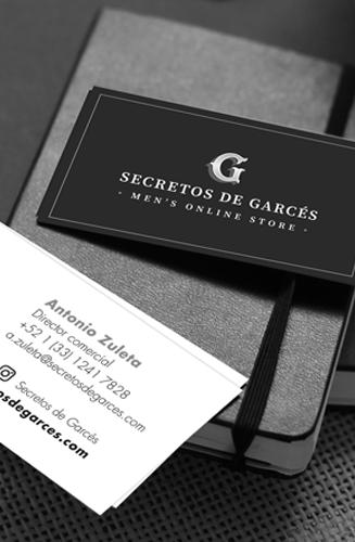 Identidad corporativa - Secretos de Garcés - SoulSay Creative Studio