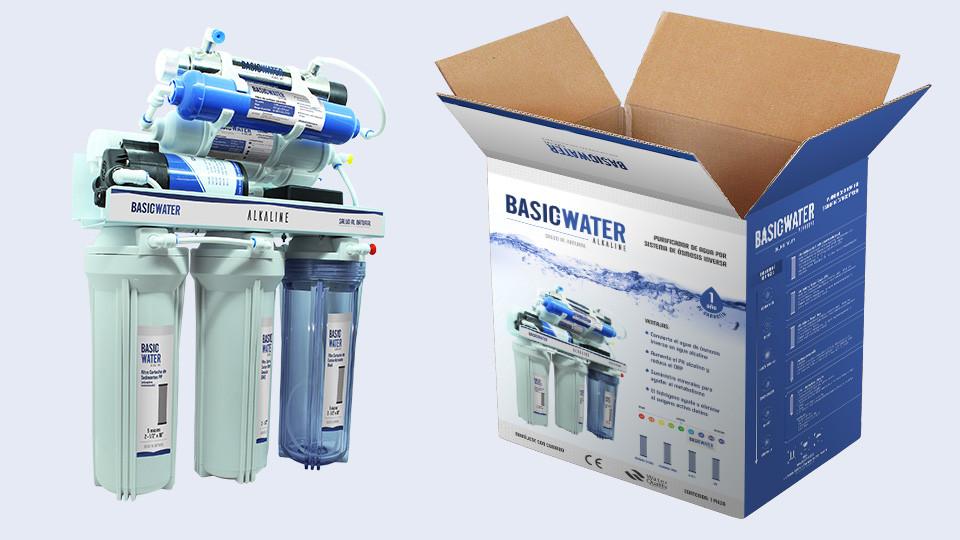Caja principal - Basic Water ALKALINE