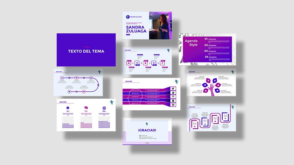 Presentación institucional ppt - Sandra Zuluaga