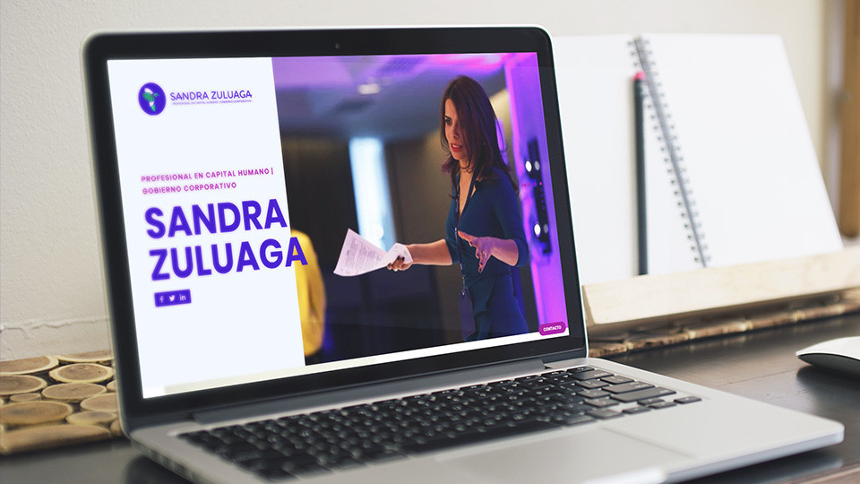 Sitio web - Sandra Zuluaga