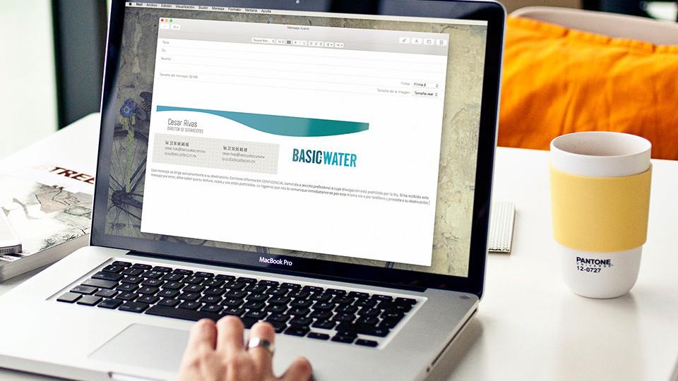 Firma electrónica - Basic Water