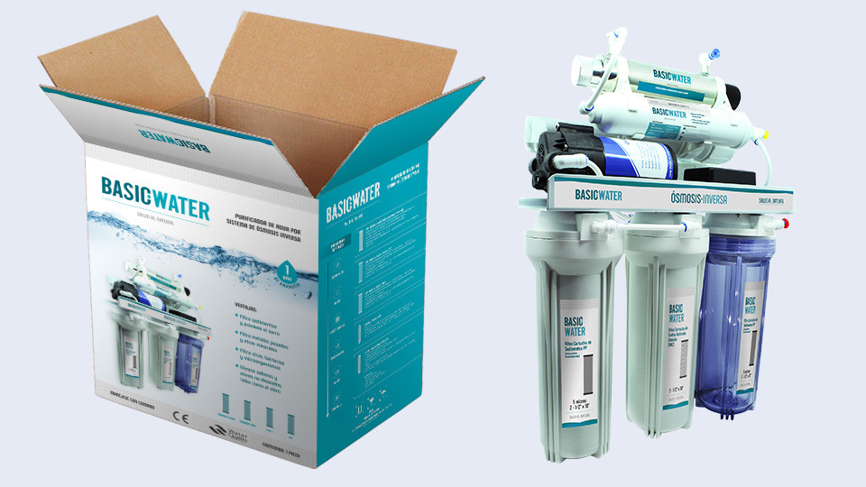Caja principal - Basic Water