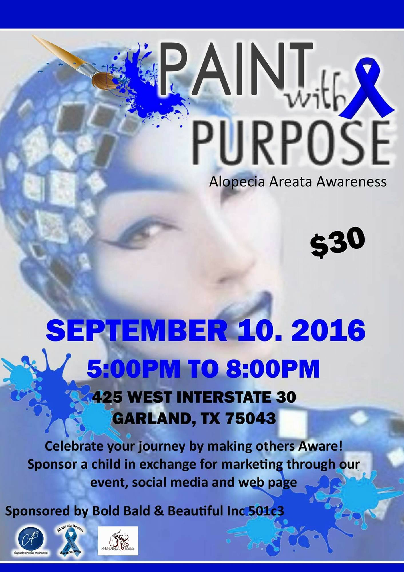 Paint with a Purpose Fundraiser