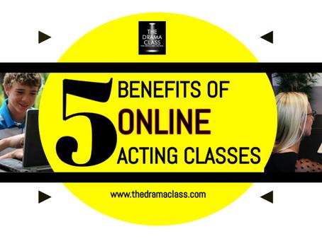 5 Benefits of Online Acting Classes