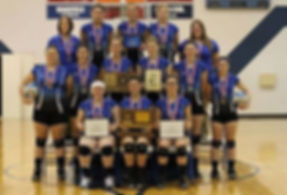 Lady Buebird Volleyball team