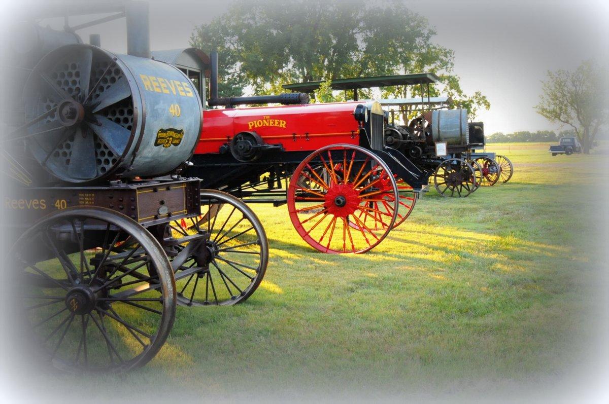 Prairie tractors 2014