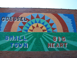 Mural on east side of Keith's Foods