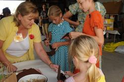 Kids activities Threshing Days 2014