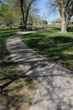 Goessel walking path