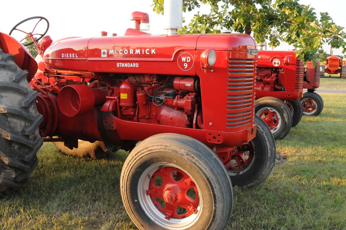 International Harvester was featured