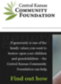 Central Kansas Community Foundation logo