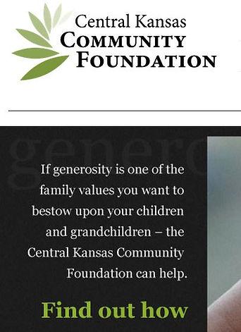 Central Kansas Community Foundation logo