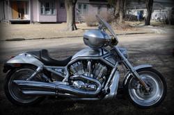 Harley Davidsons were poplar