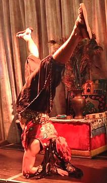 Arabian acrobat