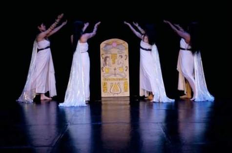 Egyptian dance  show