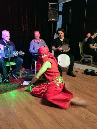 Live band / Genie dance