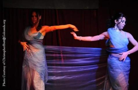 Veil dancers