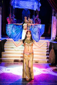 Candelabra dancer