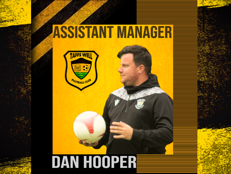 Dan Hooper appointed Assistant Manager