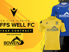 Macron & Taffs Well FC launch new partnership
