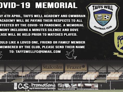 Covid 19 Memorial - 4th April 2021