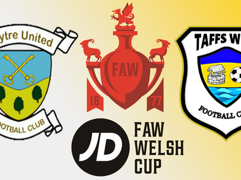 JD FAW Welsh Cup Second Round