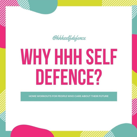 5 reasons why YOU should train with HHH Self Defence