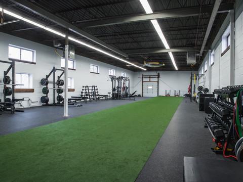 Boutique Warehouse training facility in Oakville, Ontario.