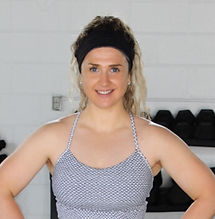 """A strong female personal trainer in Oakville, Ontario."""