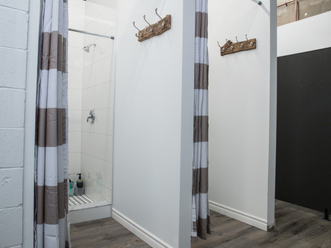 We are conveniently located across from the Bronte GO station and have showers & changerooms on site