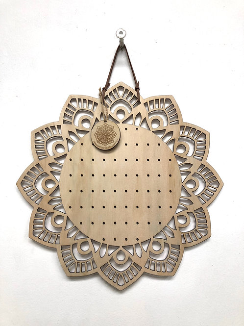 W/S - Mandala Earring Board 'FAITH' - 30cm