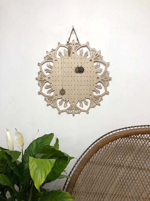 XL Mandala Earring Board -'GROWTH' -50cm