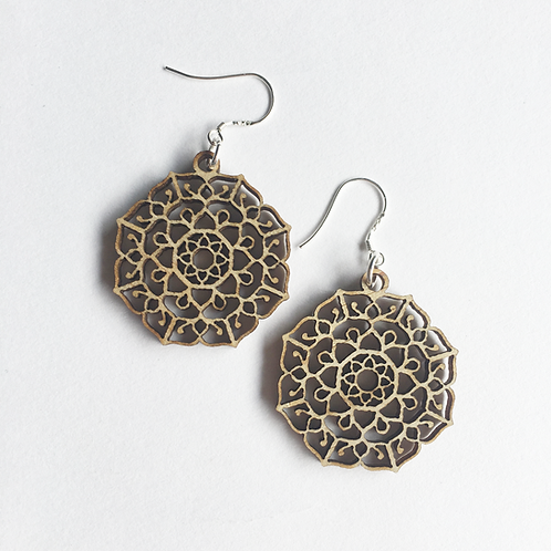 W/Sale - Manifest Mandala Earrings