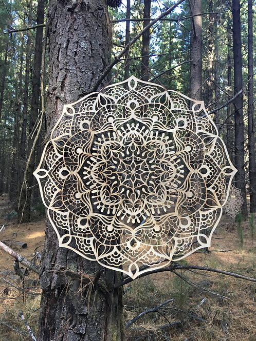 'Abundance' XL Mandala