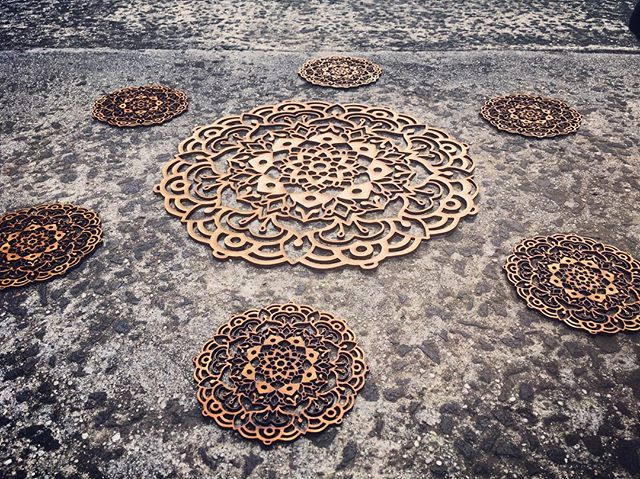Laser Cut Mandala Set