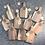 Thumbnail: W/Sale - lot of 10 mini mandala serving boards