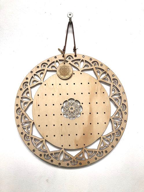 W/S - Mandala Earring Board 'SACRED' - 30cm