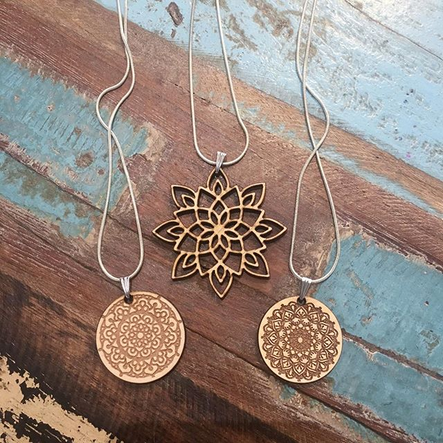 Laser Cut Necklaces