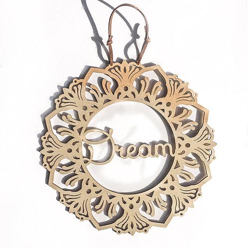 'Dream' Affirmation Mandala