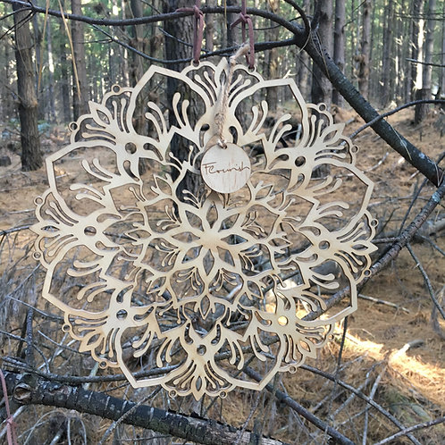 'Flourish' Mandala