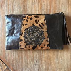 Custom laser etched purse