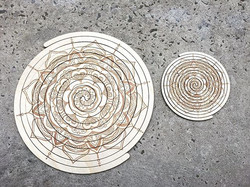 Soulmate Placemat and Coaster Set