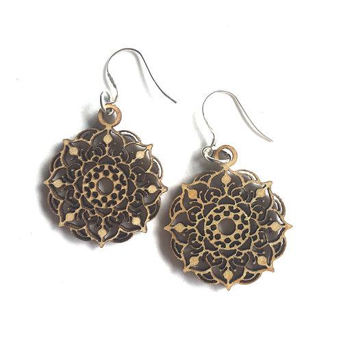 Mystic Mandala Earrings