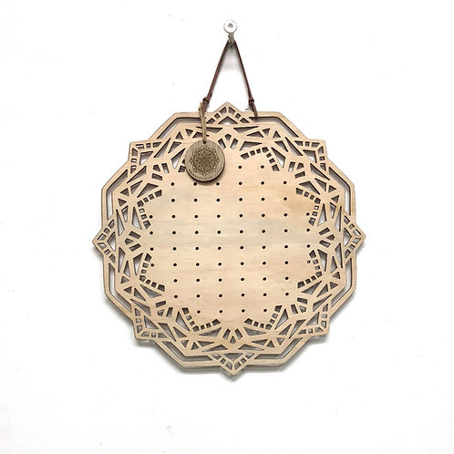 Mandala Earring Board 'GEO' - 30cm
