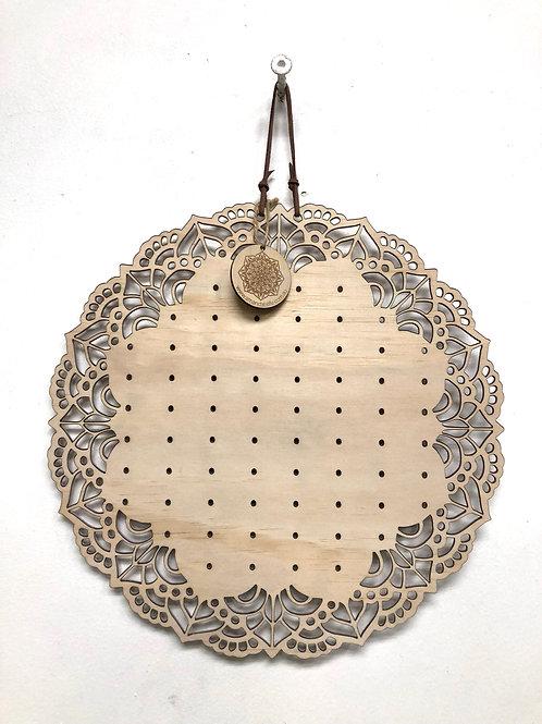 Mandala Earring Board 'DAINTY' - 30cm