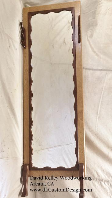 Walnut Full Length Mirror