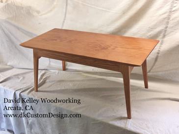 Mod mid-century style Douglas fir Coffee Table