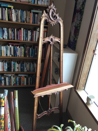 Salvaged and Restored Antique Display Stand